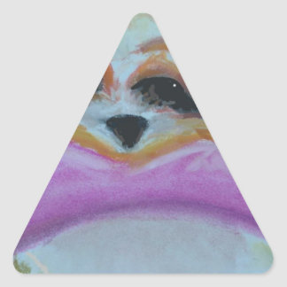 Maya wants you to have this triangle sticker