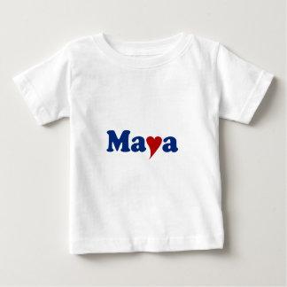 Maya with Heart T Shirt