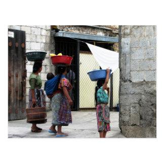 Maya women, Antigua, Guatemala Postcard