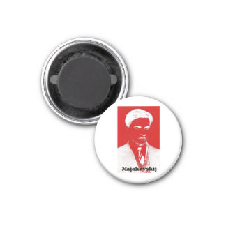 Mayakovsky Imán Redondo 3 Cm