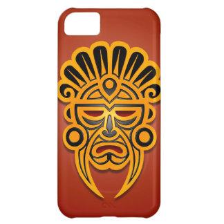 Mayamasken-Entwurf, und Schwarzes de Gelb