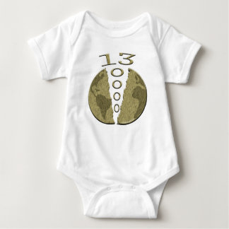 Mayan 2012 baby bodysuit