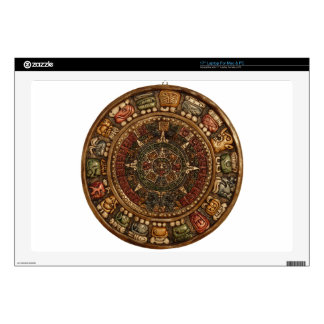 """Mayan and Aztec Calendar (Multiple Products) 17"""" Laptop Skin"""