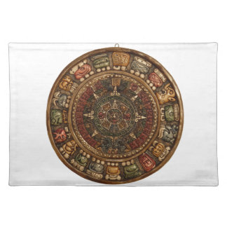 Mayan and Aztec Calendar (Multiple Products) Cloth Place Mat
