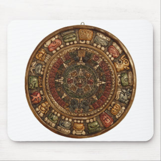 Mayan and Aztec Calendar (Multiple Products) Mousepad