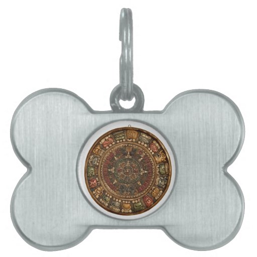 Mayan and Aztec Calendar (Multiple Products) Pet Tag