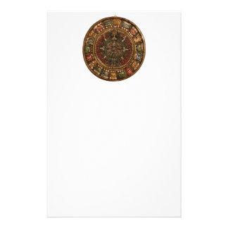 Mayan and Aztec Calendar (Multiple Products) Custom Stationery