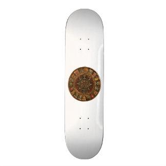 Mayan and Aztec Calendar Skateboard