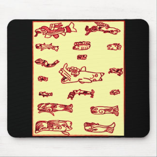 Mayan Animal Design Mouse Pad