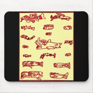 Mayan Animal Design Mousemat