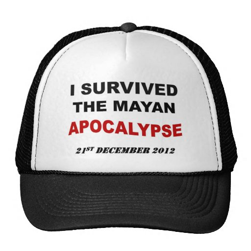 Mayan Apocalypse Full Mesh Hat