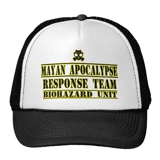 Mayan Apocalypse Response Team Mesh Hat