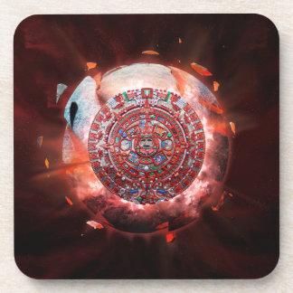 Mayan Armageddon Beverage Coasters