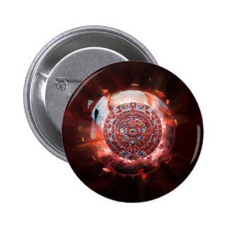 Mayan Armageddon Pinback Button