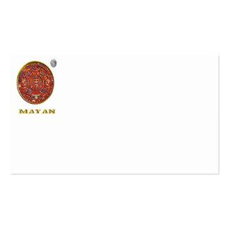 Mayan art business card