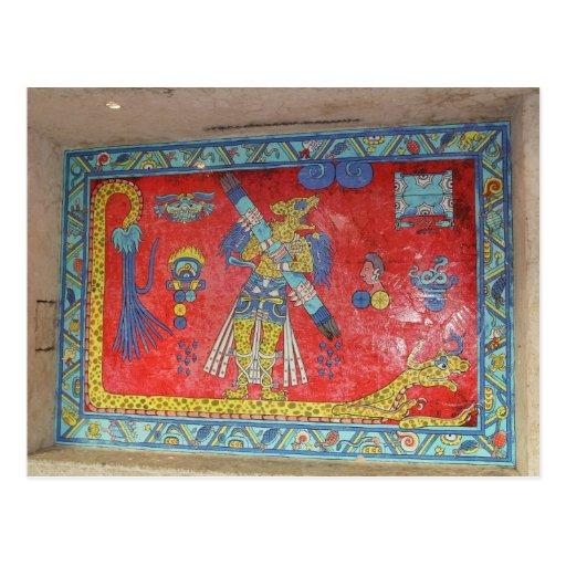 Mayan Artwork # 4 Postcard
