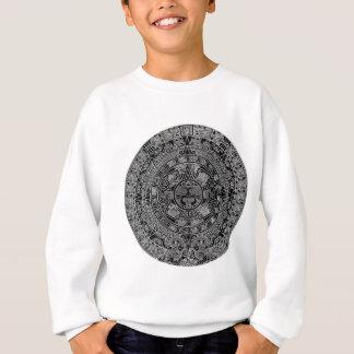 Mayan Aztec Calendar (black) 12.21.2012 Sweatshirt