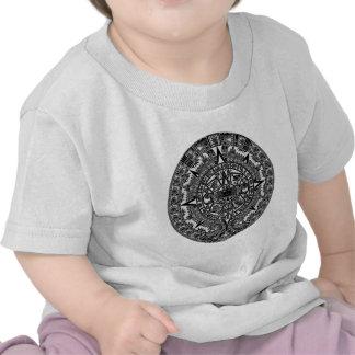 Mayan Aztec Calendar (black) Dec.21, 2012 Tee Shirt