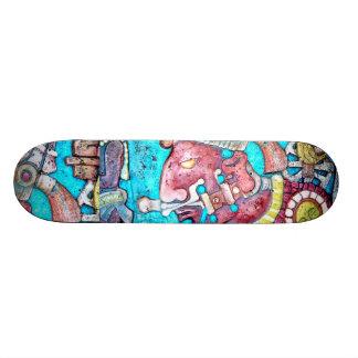 Mayan Aztec High Priest Skate Board deck design