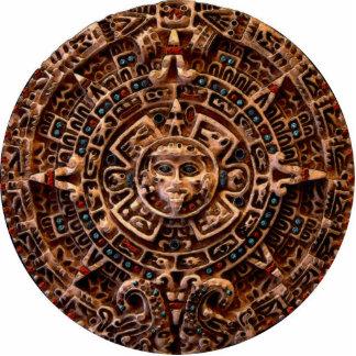 MAYAN AZTEC Mystical Sun Calendar Gift Item Statuette
