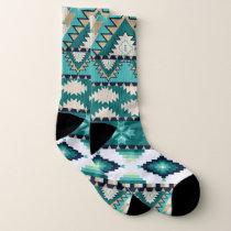 Mayan Aztec Pattern Socks