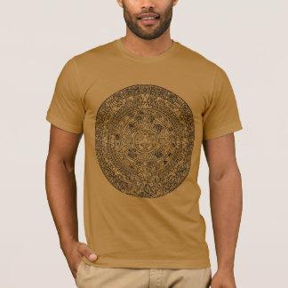 Mayan Aztec Sun Calender T-Shirt