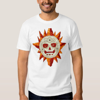 Mayan Aztec Sun Tee Shirt