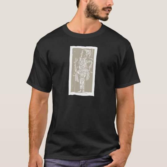 Mayan B Woodblock T-Shirt