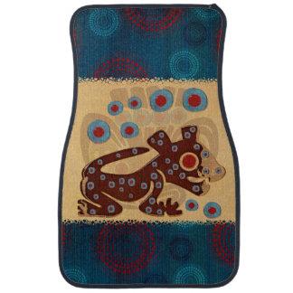 Mayan Baby Jaguar 3d TEXTILE Car Floor Mat