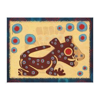 Mayan Baby Jaguar CANVAS PRINT