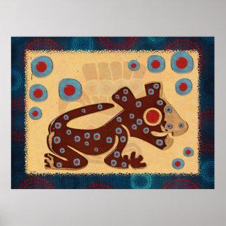 Mayan Baby Jaguar GLOSSY PRINT
