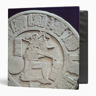 Mayan ball court marker, from Chinkultic 3 Ring Binder