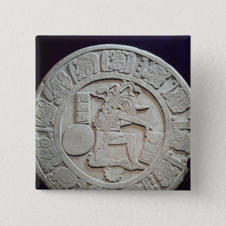 Mayan ball court marker, from Chinkultic Button