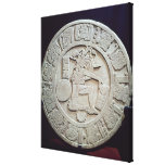 Mayan ball court marker, from Chinkultic Canvas Prints