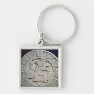 Mayan ball court marker, from Chinkultic Key Chain