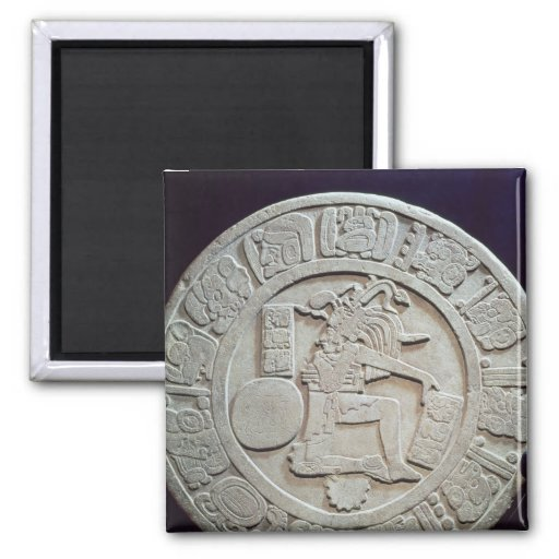 Mayan ball court marker, from Chinkultic Refrigerator Magnets