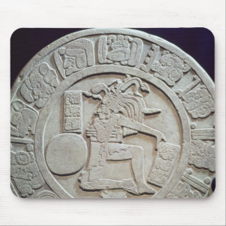 Mayan ball court marker, from Chinkultic Mouse Pad