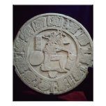 Mayan ball court marker, from Chinkultic Print