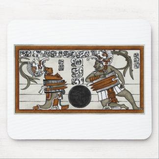 Mayan Ball Game Mouse Pad