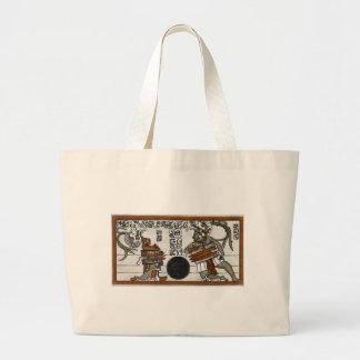 Mayan Ball Game Tote Bag