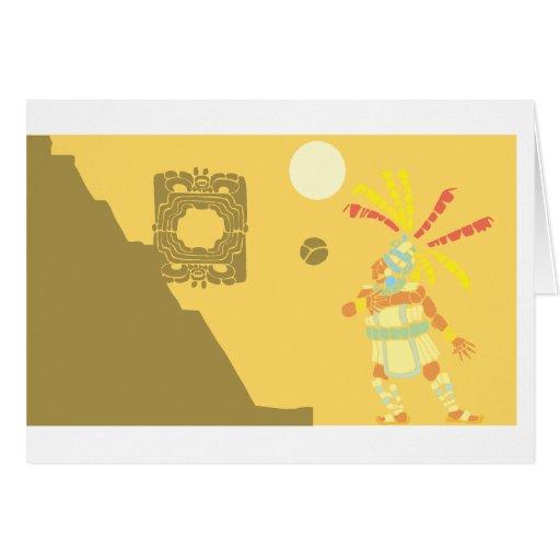 Mayan Ballgame Card