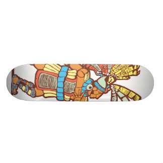 Mayan Ballplayer Skateboard