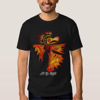 mayan bird tee shirts