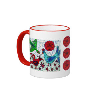 Mayan Birds Coffee Mug