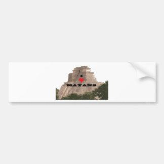 mayan bumper sticker