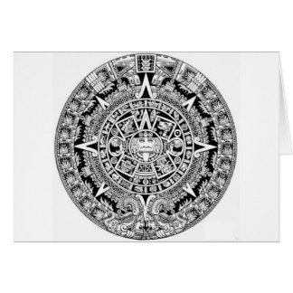 Mayan Calander Card