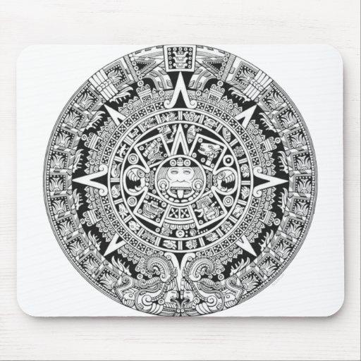 Mayan Calendar 12.21.2012 Aztec Mousepads