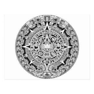 Mayan Calendar 12.21.2012 Aztec Postcard