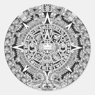 Mayan Calendar 12.21.2012 Aztec Sticker