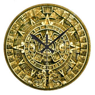 Mayan Calendar (12 Hour Dial) Wallclock